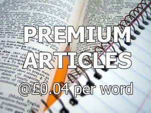 premium content from $0.04 per word