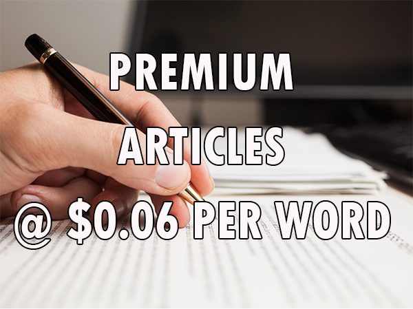 premium article writing service