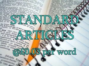standard content from $0.02 per word