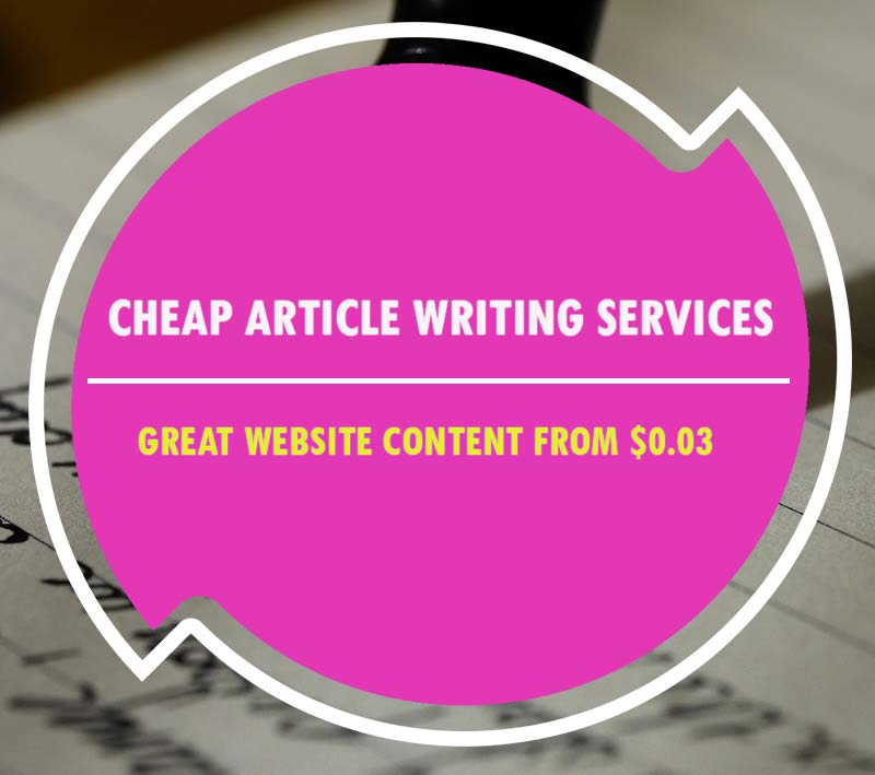 best cheap article writing services usa