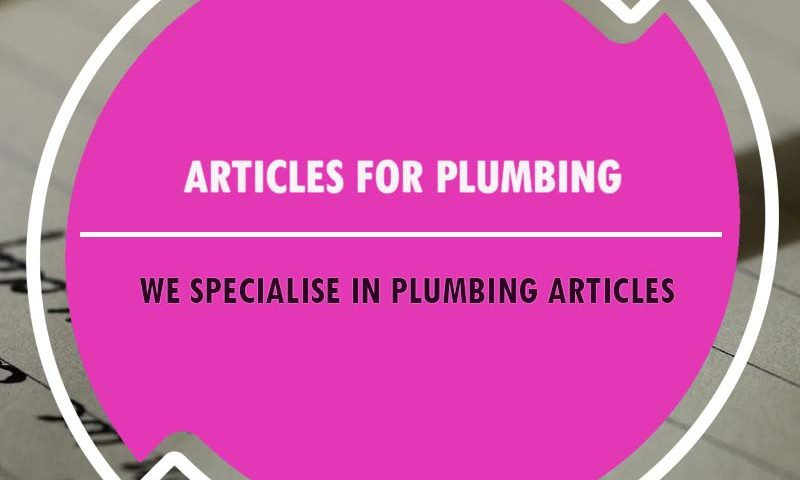 content writing for plumbers