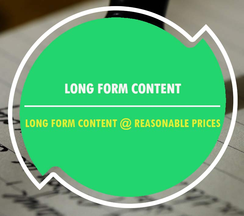 the benefit of long form content